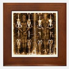 Shroud of Turin - Full Length Negative Framed Tile