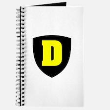 Letter D Journal