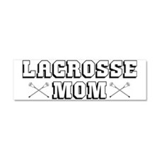 Lacrosse_LacrosseMom Car Magnet 10 x 3