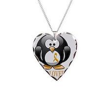 I Am Loved penguin Necklace