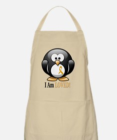 I Am Loved penguin Apron
