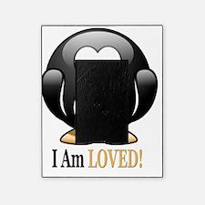 I Am Loved penguin Picture Frame