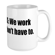 Republicans Work Bumper Sticker Mug