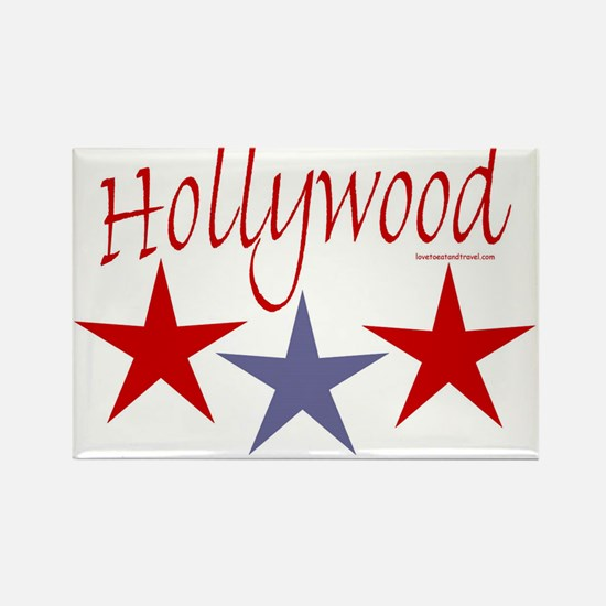 Hollywood Stars - Rectangle Magnet