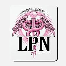 LPN-PINK-Caduceus Mousepad