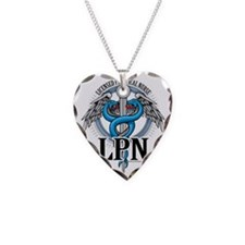 LPN-Caduceus-BLue Necklace