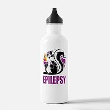 Epilepsy-Stinks-blk Water Bottle