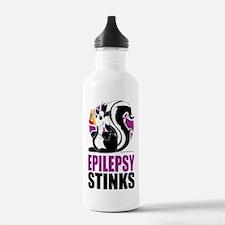 Epilepsy-Stinks Sports Water Bottle