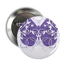 """Epilepsy-Butterfly-blk 2.25"""" Button"""