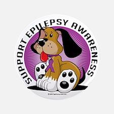 "Epilepsy-Dog 3.5"" Button"