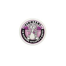 Epilepsy-Fighter-Cat Mini Button