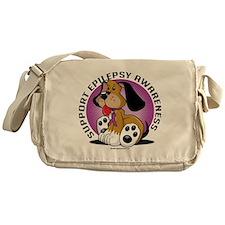 Epilepsy-Dog Messenger Bag