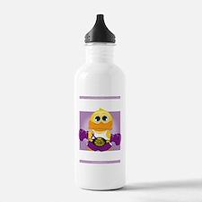 Knock-Out-Epilepsy-blk Sports Water Bottle