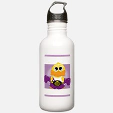 Knock-Out-Epilepsy-blk Water Bottle
