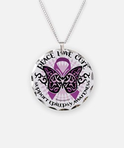 Epilepsy-Butterfly-Tribal-2 Necklace