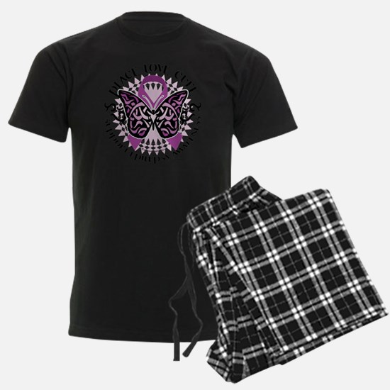 Epilepsy-Butterfly-Tribal-2 Pajamas