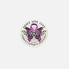Epilepsy-Butterfly-Tribal-2 Mini Button