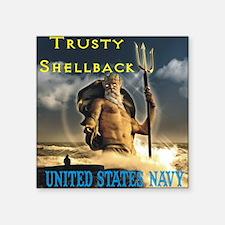 """shellback Square Sticker 3"""" x 3"""""""