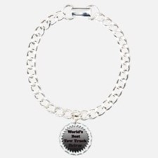 Worlds best tow truck dr Charm Bracelet, One Charm