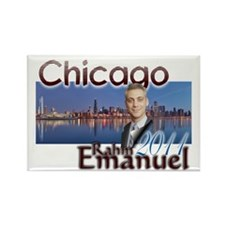 rahm emmanuel Rectangle Magnet