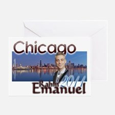rahm emmanuel Greeting Card