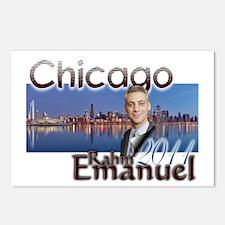 rahm emmanuel Postcards (Package of 8)