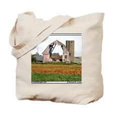 zz-BARN-HOLE-mousepad Tote Bag