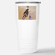 2-Barrel Horse-Yardsign Stainless Steel Travel Mug