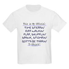 Official Tap T-Shirt Blue Kids T-Shirt