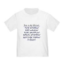 Official Tap T-Shirt Blue T