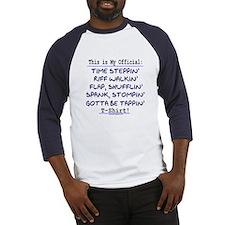Official Tap T-Shirt Blue Baseball Jersey