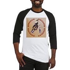 Barrel Horse-Circle Baseball Jersey