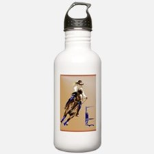 2-Barrel Horse PosterP Water Bottle