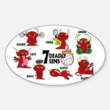 7deadlysinsvolleyball Decal