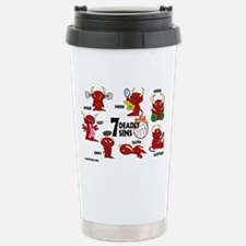 7deadlysinsvolleyball Travel Mug