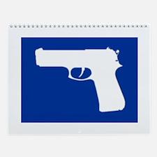 Gun Wall Calendar