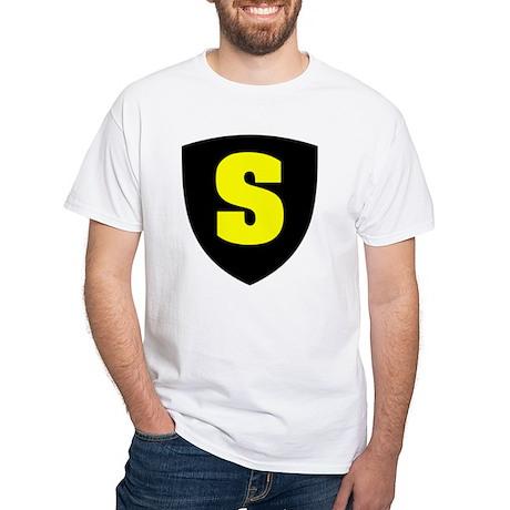 Letter S White T-Shirt