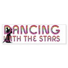 dancingwstarscap Bumper Sticker