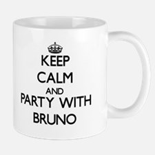Keep Calm and Party with Bruno Mugs