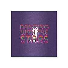 """dancingwstarssq Square Sticker 3"""" x 3"""""""