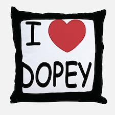 DOPEY Throw Pillow