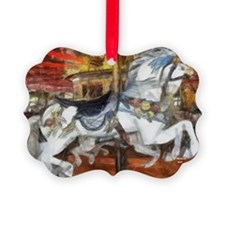 carousel_9x12_print Ornament