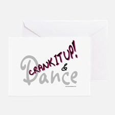 Crank It Up! Pink Greeting Cards (Pk of 10)