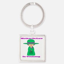 motherinlaw Square Keychain