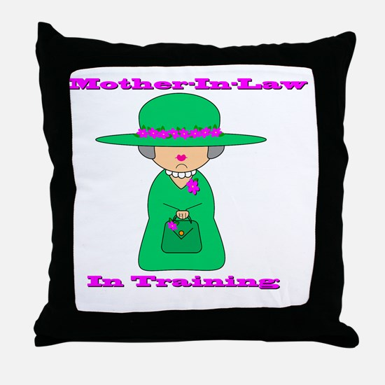 motherinlaw Throw Pillow