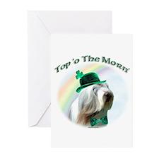 Beardie Morn Greeting Cards (Pk of 10)