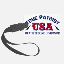 Death Before Dishonor Luggage Tag