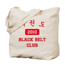 2-RL-TKD Black Belt Club 2010 Tote Bag