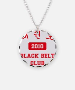 2-RL-TKD Black Belt Club 201 Necklace