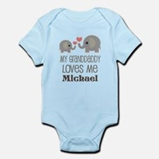 My Granddaddy Loves Me Personalized Body Suit